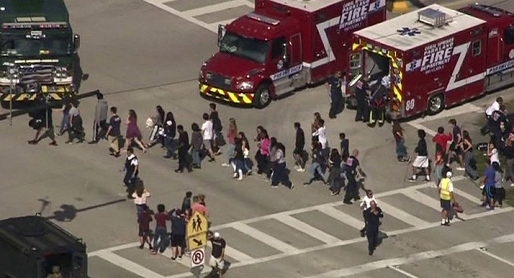 17 confirmed dead in US school shooting