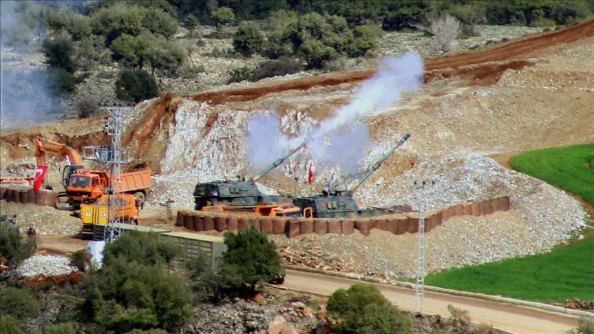 1,873 terrorists 'neutralized' in Turkey's Afrin operation