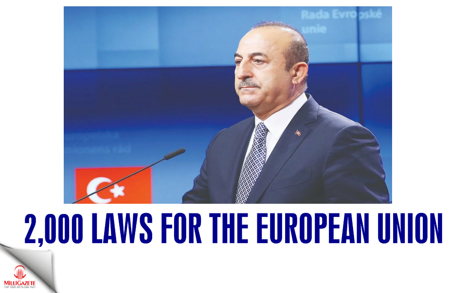 2,000 laws for the European Union