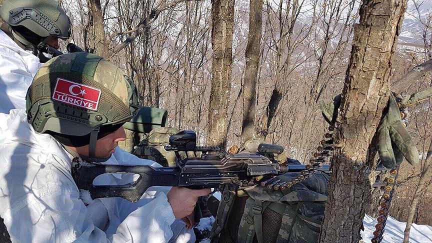 '2 PKK/PYD terrorists' killed in Turkey