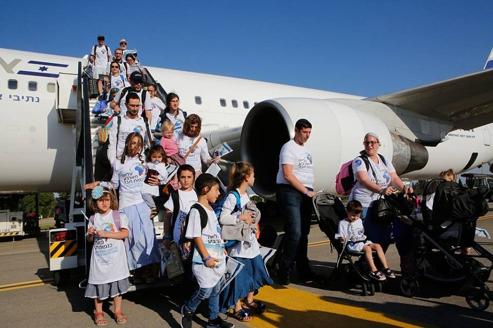 300 new occupiers arrived in Israel
