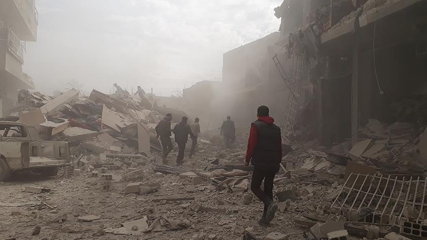 33 killed in fresh regime attacks in Syria's E.Ghouta