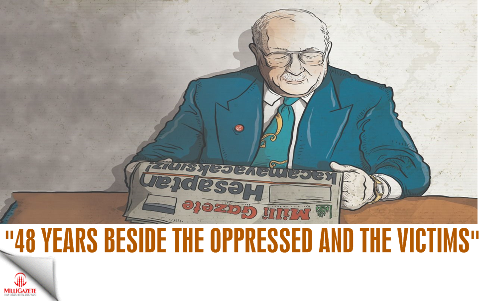 48 years with the oppressed and the victims