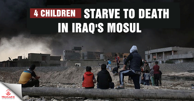 4 children starve to death in Iraqs Mosul