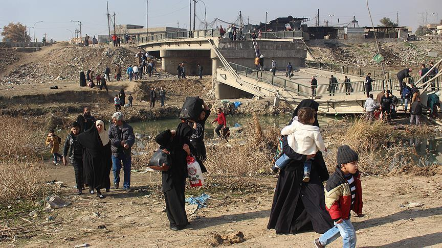 50,000 Iraqis return to homes after liberation of eastern Mosul