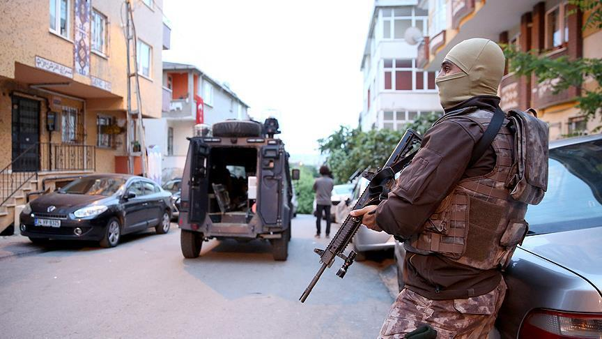 5 Daesh terrorists killed in clash with Turkish police