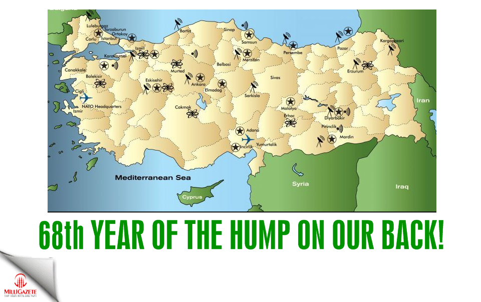 68th year of the hump on our back