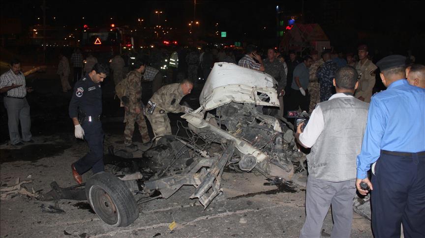 6 killed in suicide bomb attack in Iraq
