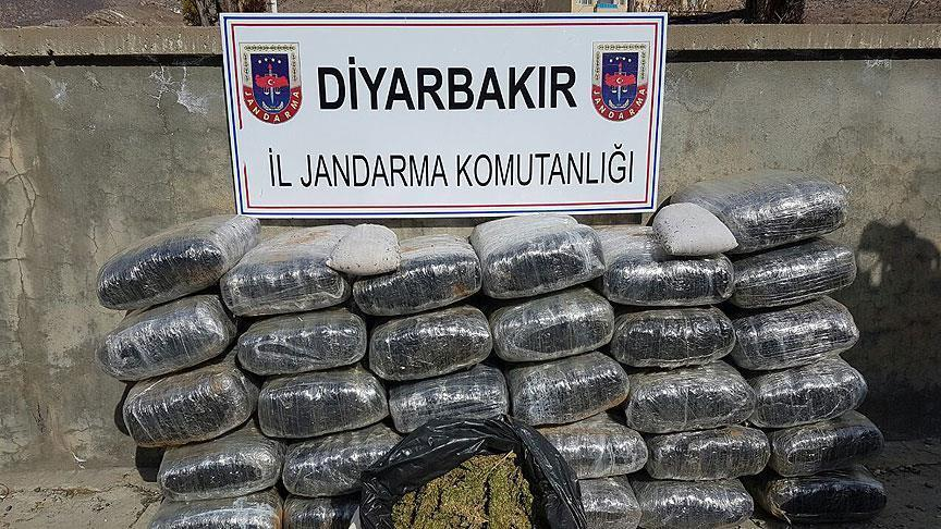 75 tons of hashish seized in southeast Turkey