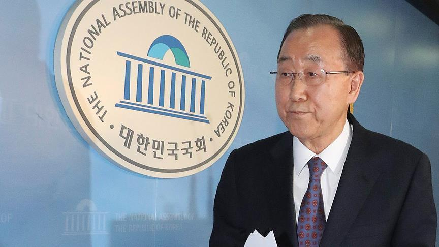 Ban Ki-moon surprises political allies