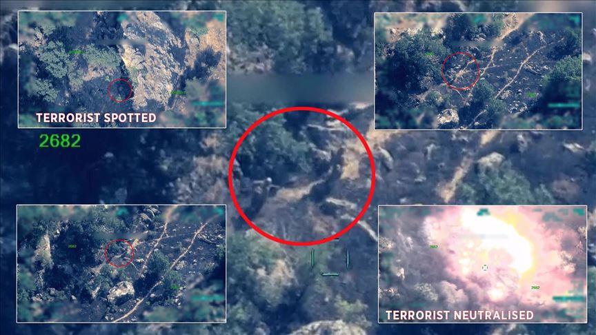 Most wanted PKK terrorist neutralized in N.Iraq