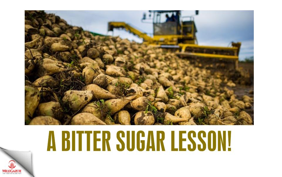 A bitter sugar lesson!