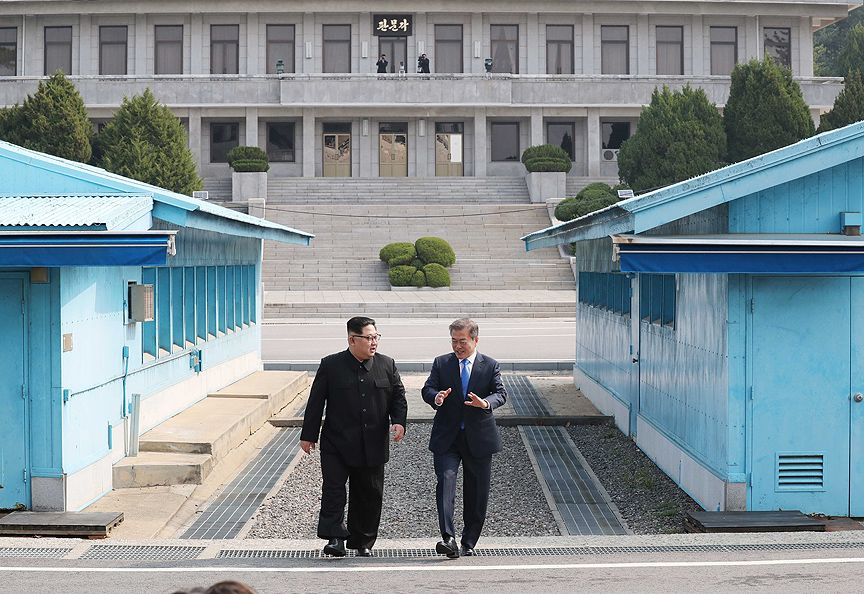 A first after 65 years! North Korean leader Kim Jong-un in South Korea