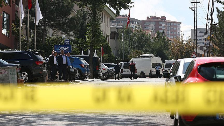 A suspect arrested outside Israel's Ankara embassy