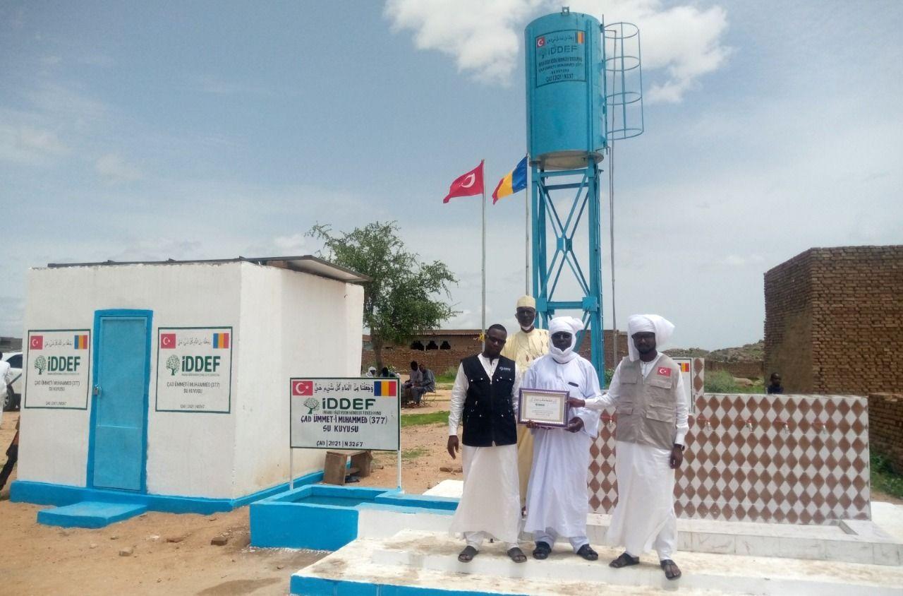 Abéché Turks in Chad got clean water