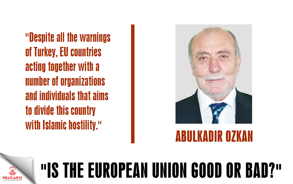 "Abdulkadir Ozkan: ""Is the EU good or bad?"""