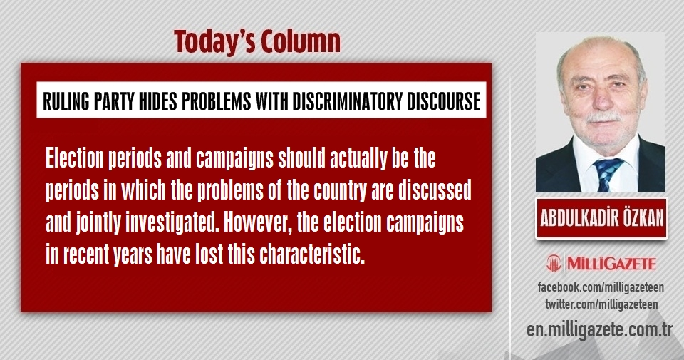 "Abdulkadir Özkan: ""Ruling party hides problems with discriminatory discourse"""