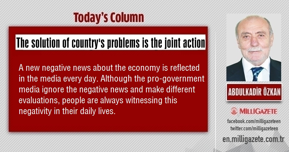 """Abdulkadir Özkan: """"The solution of countrys problems is the joint action"""""""