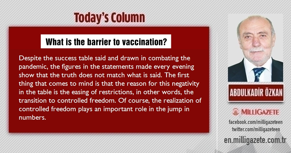 "Abdulkadir Özkan: ""What is the barrier to vaccination?"""