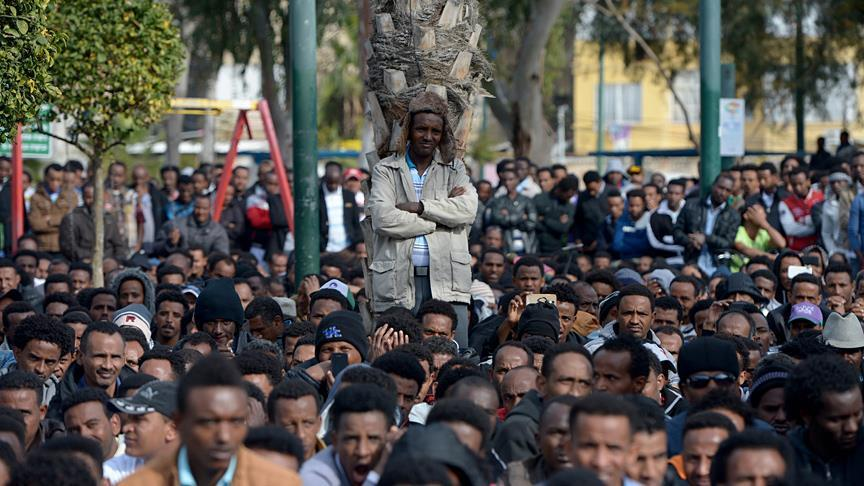 African migrants begin hunger strike over Israel policy