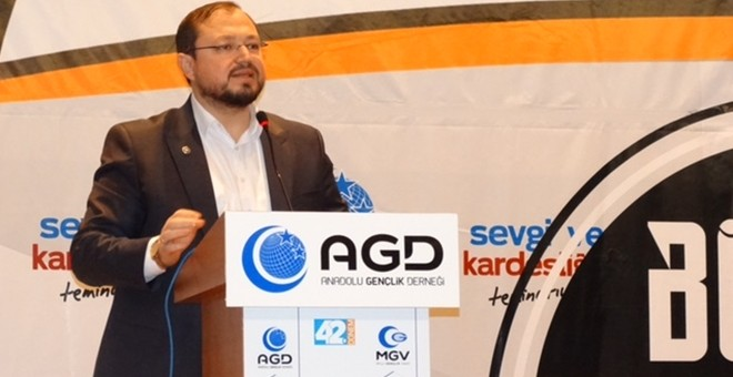 "AGD head Turhan: ""Our young children are the target of Zionism"""