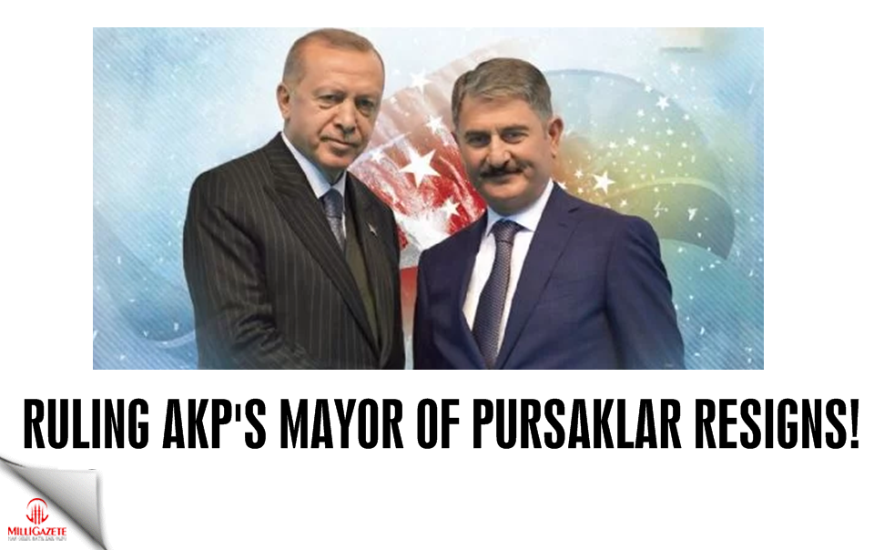 AKPs Mayor of Pursaklar resigns!