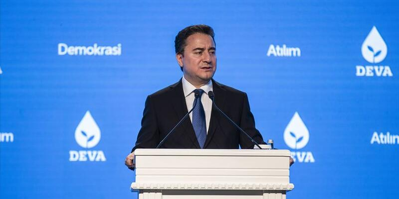 Ali Babacan re-elected as chairman of DEVA Party