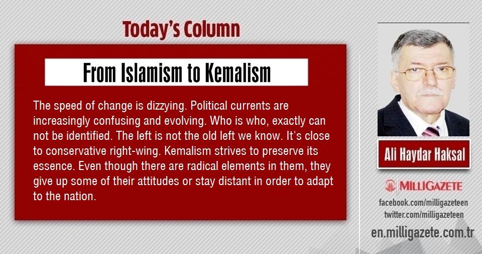 "Ali Haydar Haksal: ""From Islamism to Kemalism"""