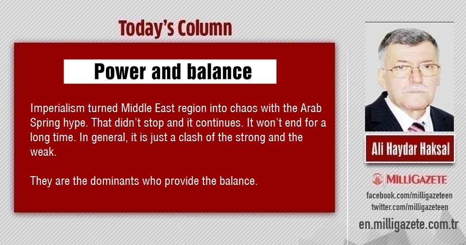 "Ali Haydar Haksal: ""Power and balance"""