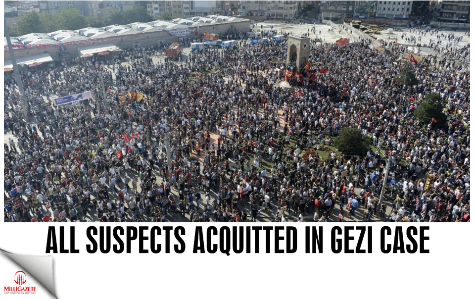 All suspects acquitted in Gezi case