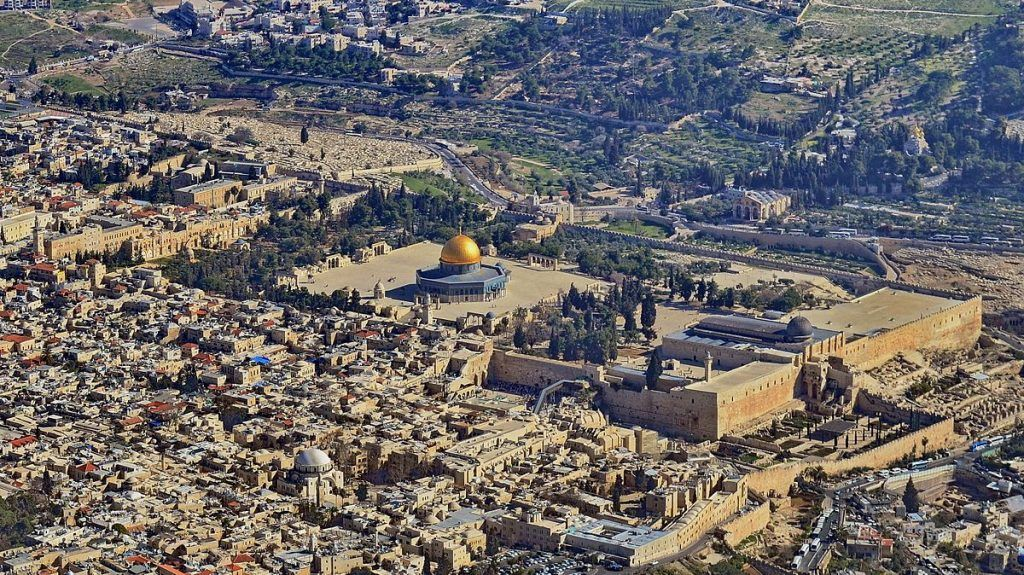 An arrogant step towards Jerusalem!