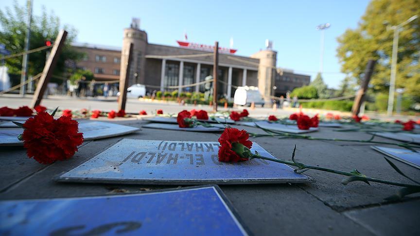 Ankara remembers victims on bombing anniversary