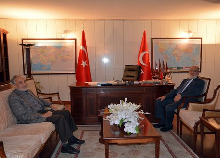 Asiltürk visits new leader of Saadet Party