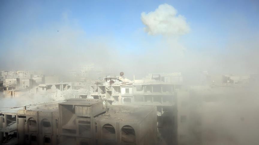 Assad regime uses chlorine gas in Eastern Ghouta