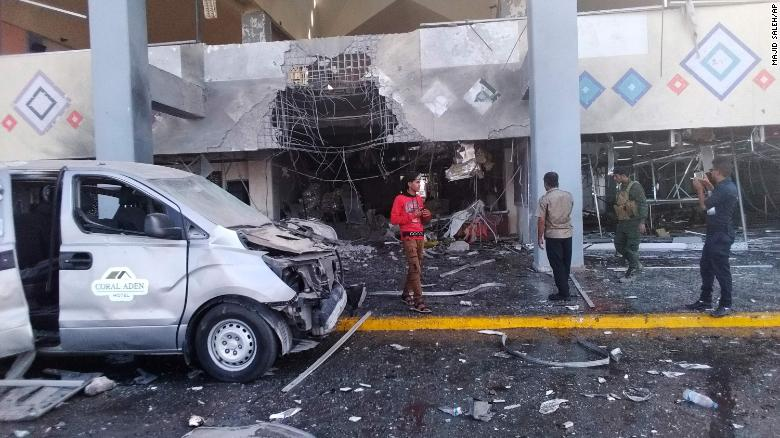At least 22 killed in attack on Yemens Aden airport after new government arrives