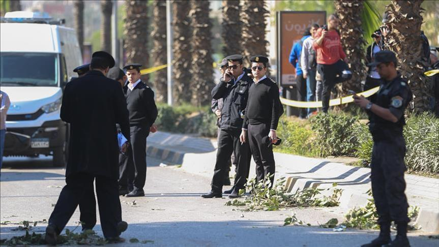 At least 8 officers killed in Cairo armed attack