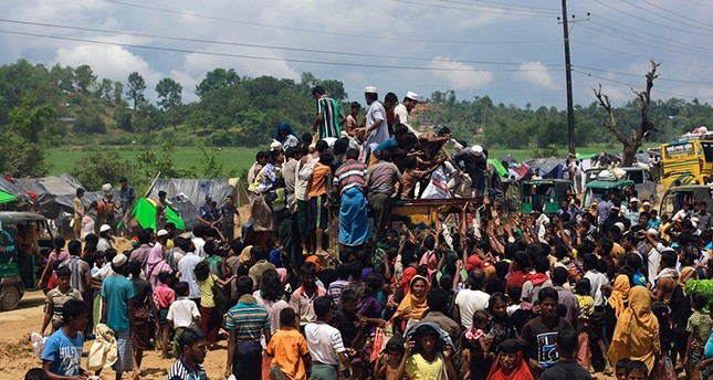 At least 9 dead after aid truck for Rohingya refugees crashes in Bangladesh
