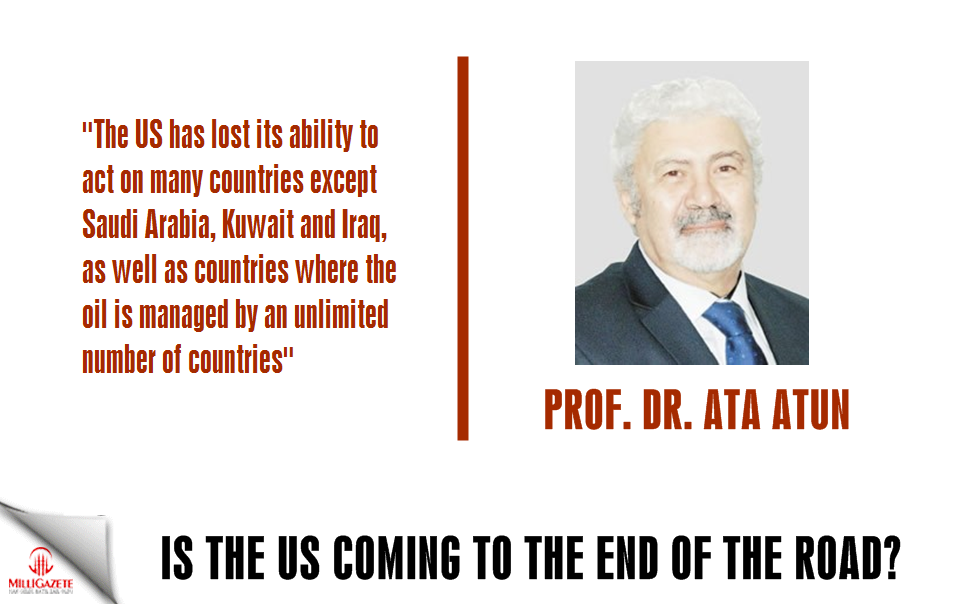 "Ata Atun: ""Is the US coming to the end of the road?"""