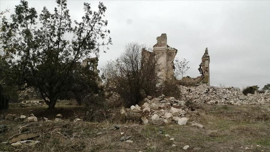 Azerbaijan: Armenians turned Aghdam into ruined city