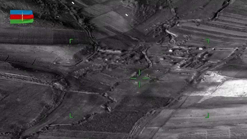Azerbaijan destroys Armenian army's ammunition depots