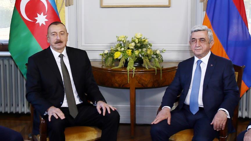 Azerbaijani, Armenian leaders discuss Karabakh dispute