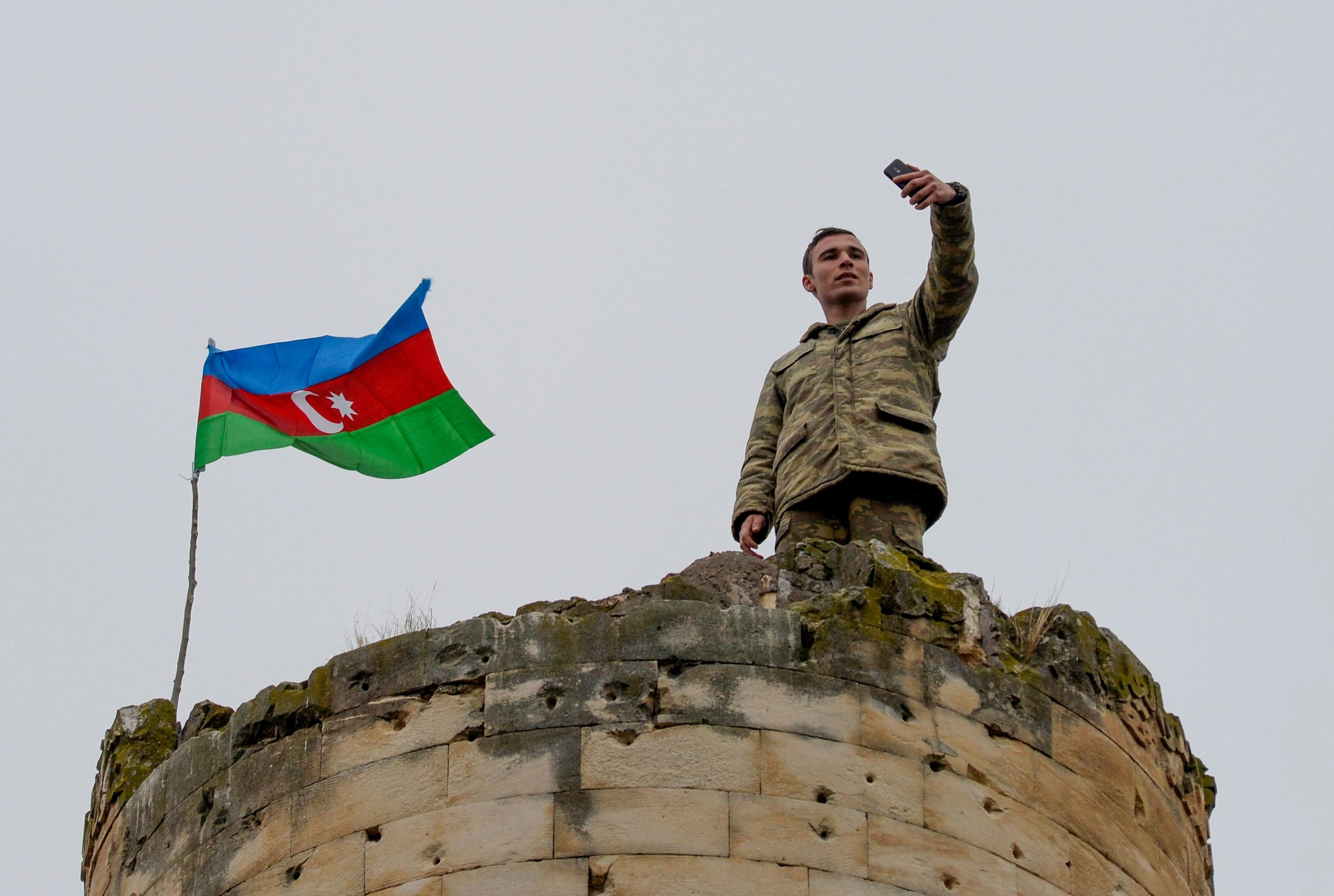 Azerbaijani army enters Lachin region after 28 years