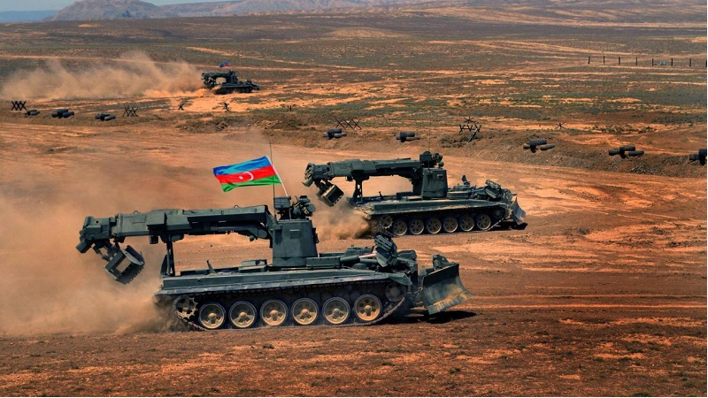 Azerbaijani army suppresses Armenian troop's actions along entire front