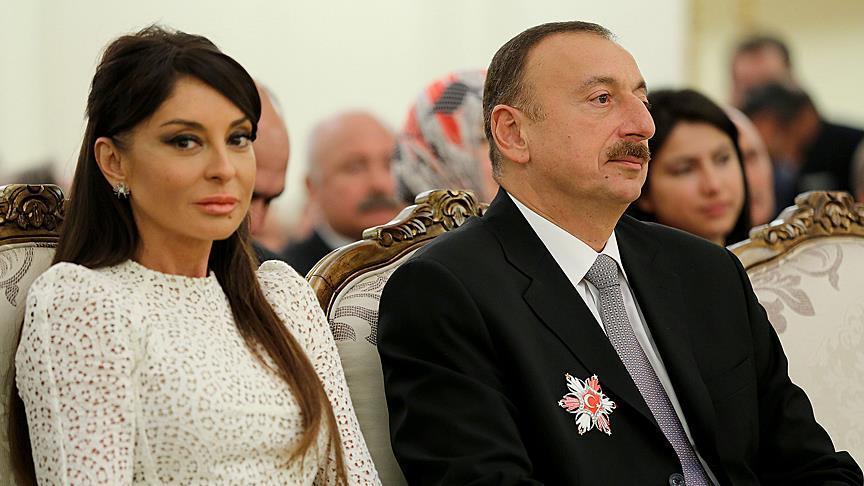 Azerbaijani president Aliyev appoints his wife as vice president