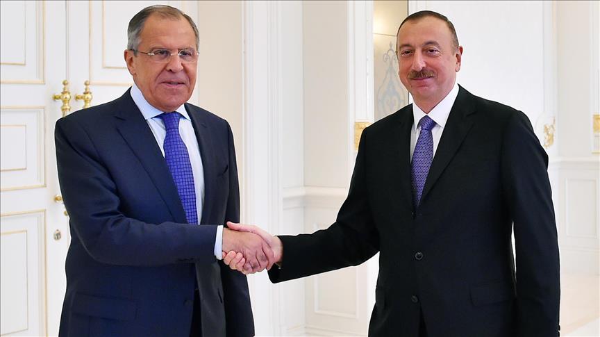 Azerbaijani president receives Russian FM