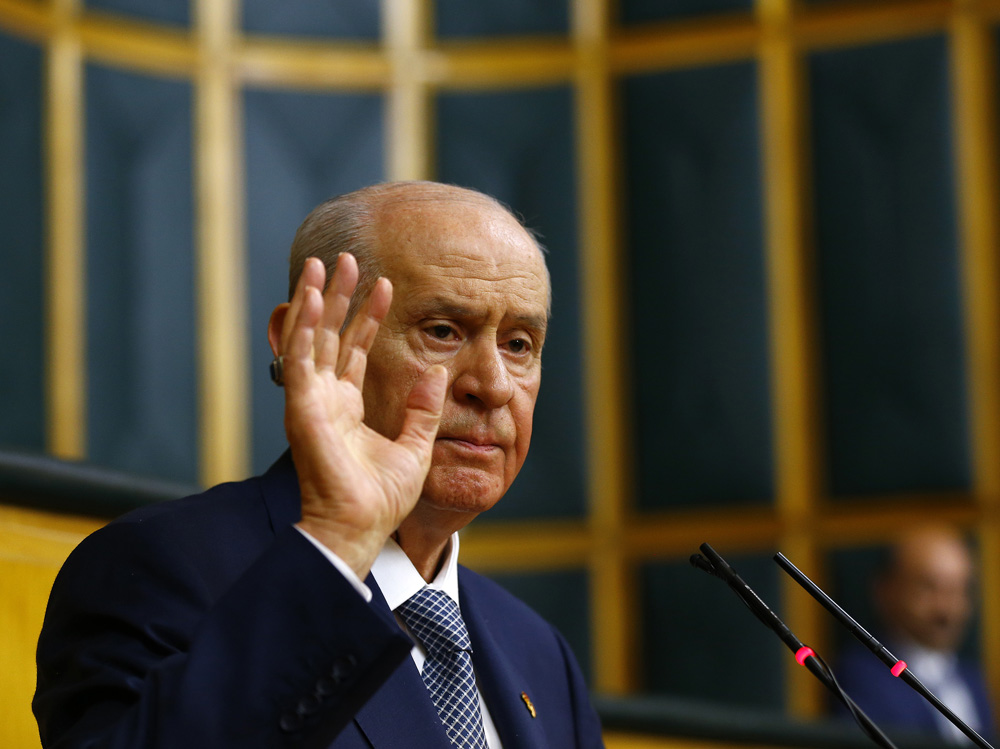 Bahceli winks at Presidential System