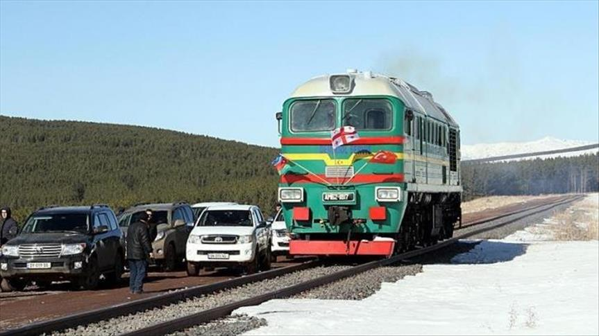 Baku-Tbilisi-Kars train line to be ready 'by summer'