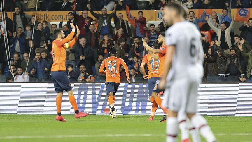 Basaksehir defeat Besiktas 1-0 in Super Lig
