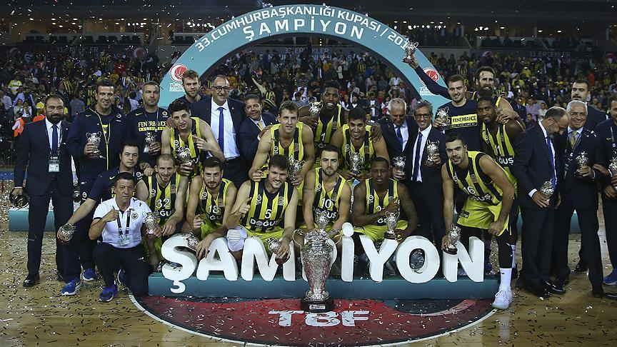 Basketball: Fenerbahce wins Turkish President's Cup
