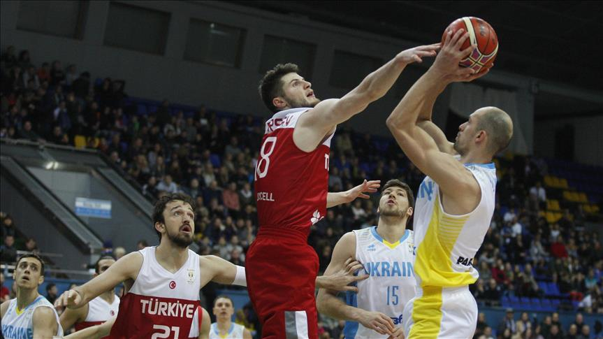 Basketball: Turkey beat Ukraine in World Cup qualifier